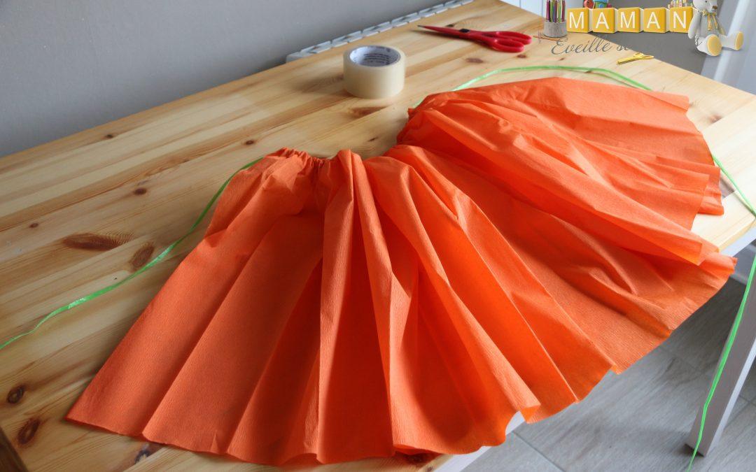 Réaliser une jupe en papier crépon pour la fête des écoles…