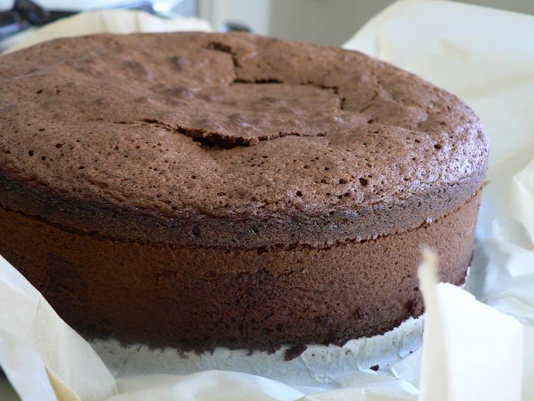 recette de gâteau au chocolat, cuisson au micro-ondes