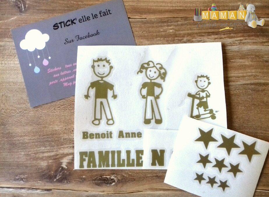 test d coration de boite aux lettres family par stick elle le fait maman veille ses enfants. Black Bedroom Furniture Sets. Home Design Ideas