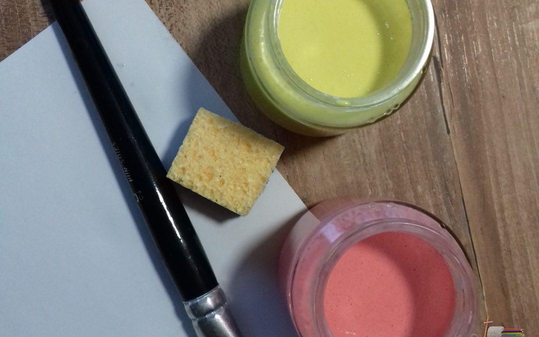 Recette de peinture faite maison