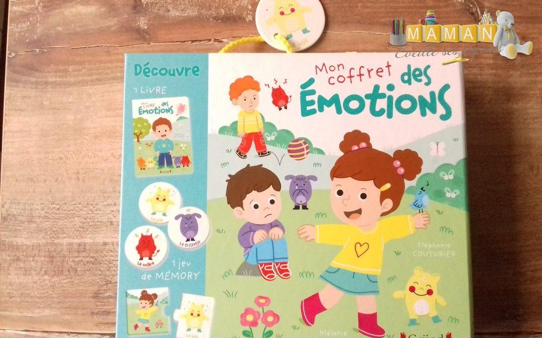 {Avis jeu} Mon coffret des émotions, Editions Gründ
