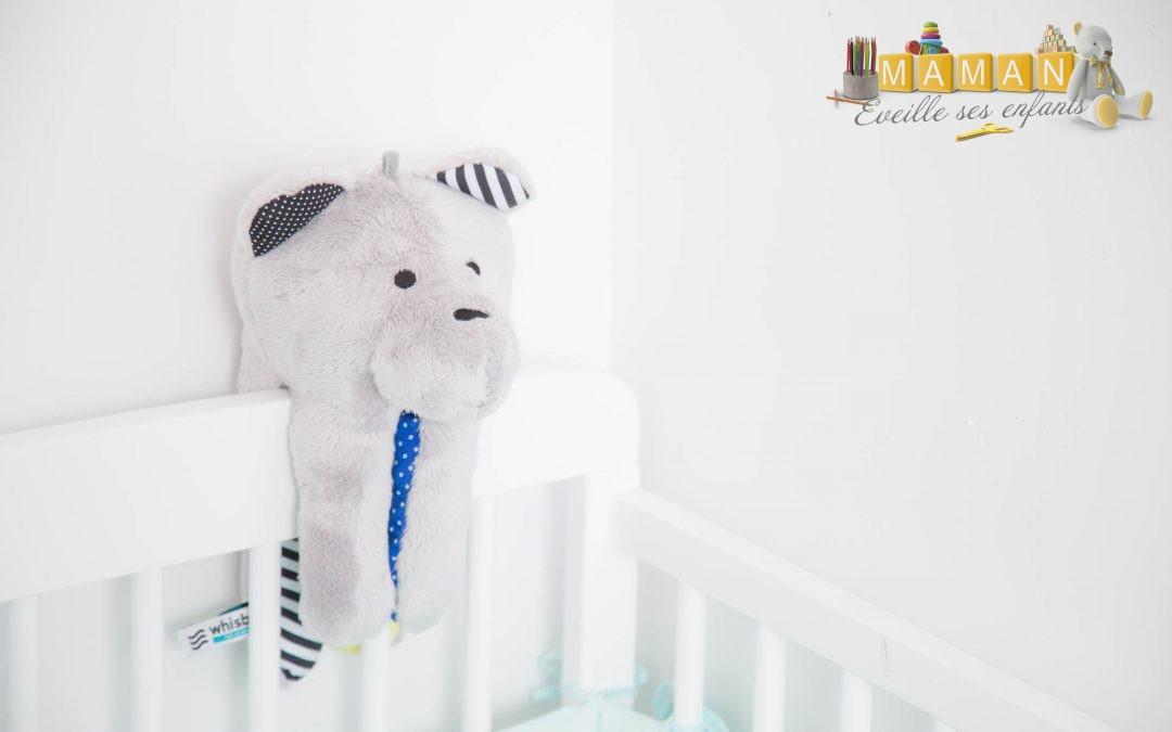 Trouver le sommeil de bébé avec l'ourson Whisbear