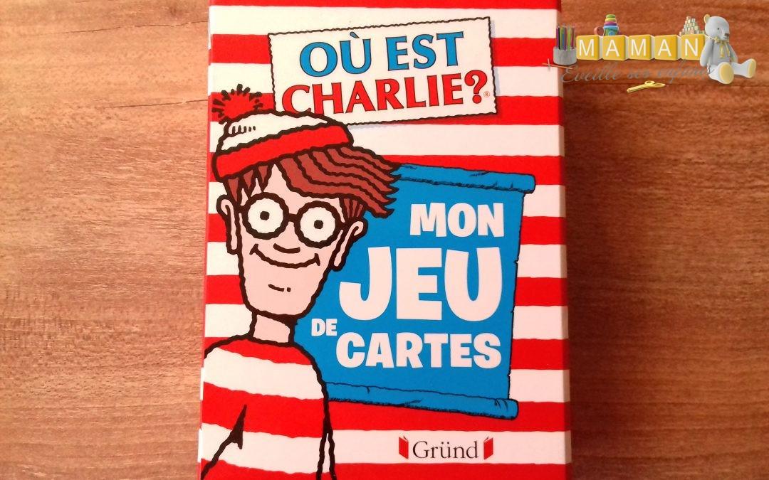 {Ludothèque}Mon jeu de cartes : Où est Charlie? Editions Gründ