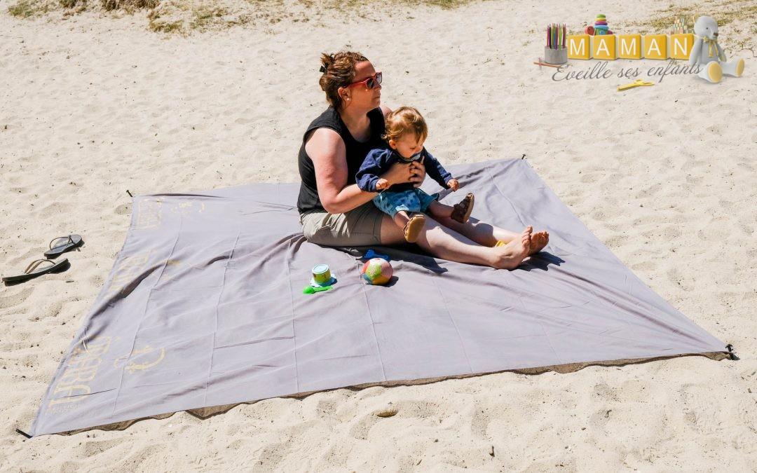 {avis} Obaba : le drap de plage en version XXL qui apporte du confort dans le sable