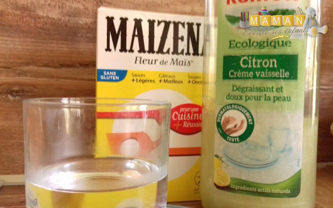 Recette de produit pour faire des bulles de savon naturelles