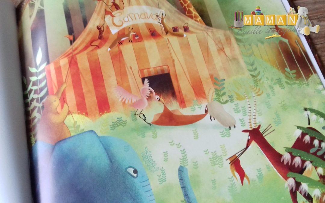 Le carnaval jazz des animaux, livre CD aux éditions Gautier-Languereau