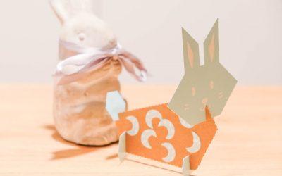Activité pour Pâques : le kit mes lapins pastels avec Pirouette Cacahouète