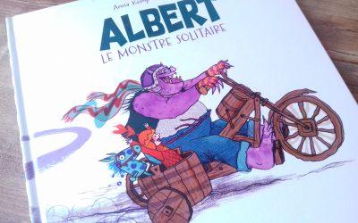Albert le monstre solitaire aux éditions Little Urban