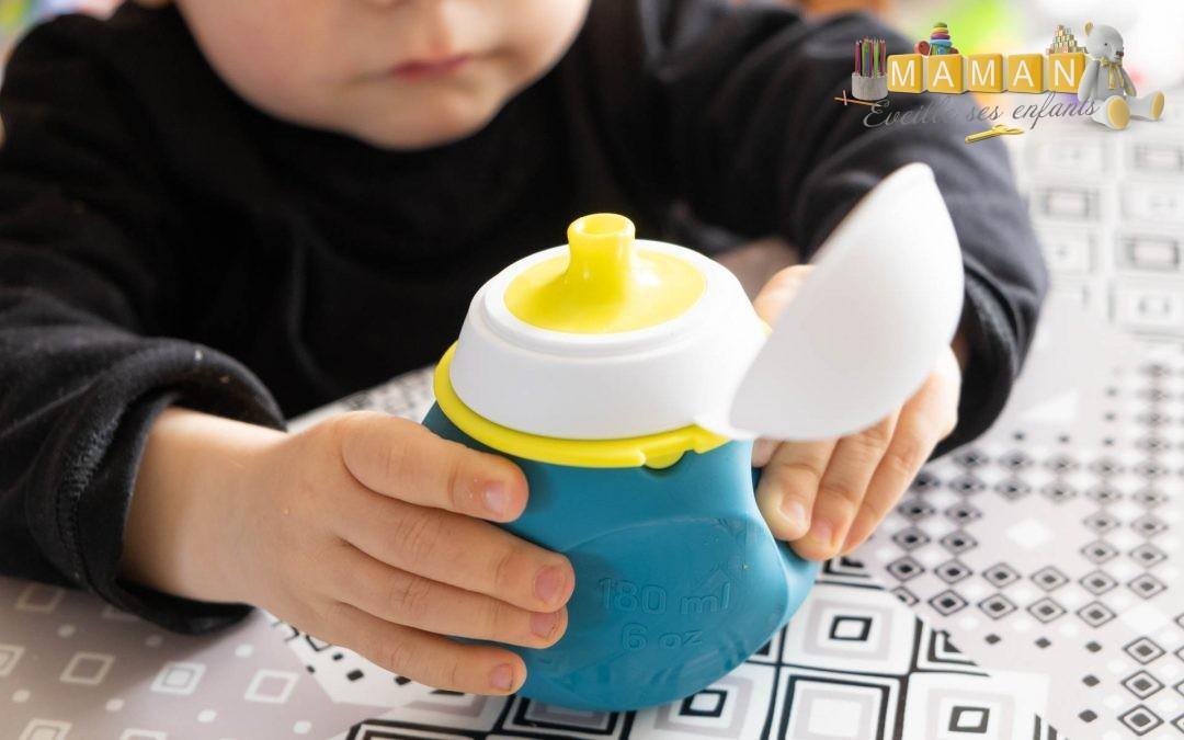 Objectif zéro déchet et goûter pratique pour les enfants avec les BabySqueez de BEABA