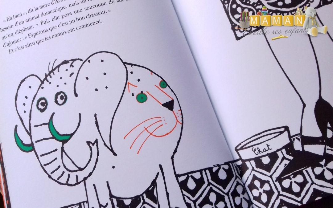 Le plus petit des éléphants au monde aux éditions Saltimbanque