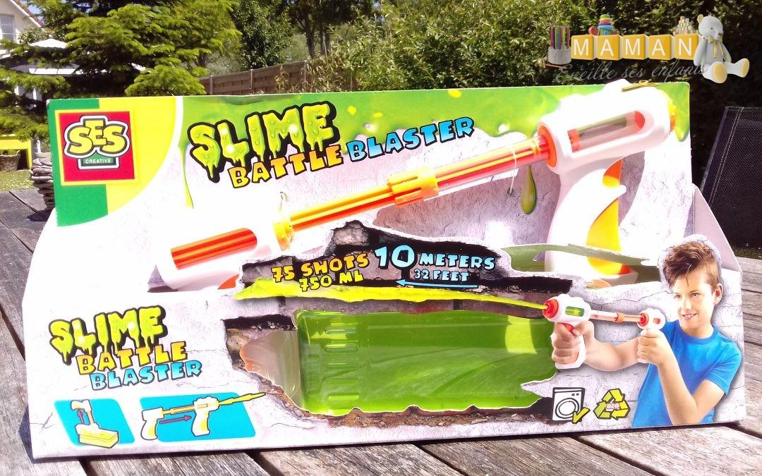 Mon pistolet lanceur de slime chez SES CREATIVE