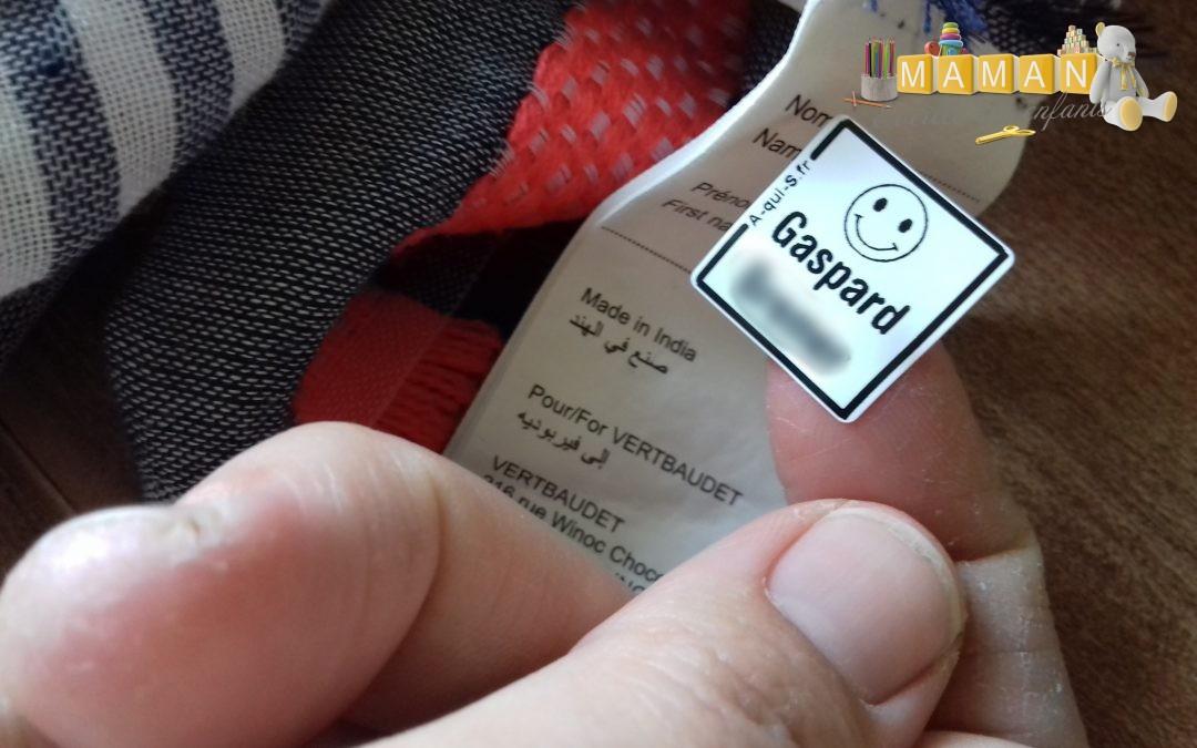 Mes étiquettes personnalisées pour la première rentrée du Little chez A-qui-S