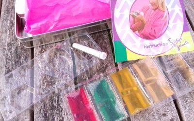 Bijoux de savon à paillettes SES Creative