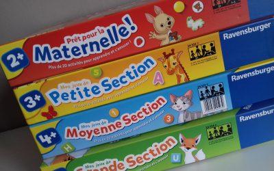 Des jeux éducatifs au top pour chaque section de maternelle  chez Ravensburger