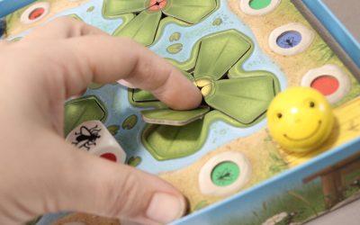 Froggie, un premier jeu de stratégie pour les plus jeunes chez HABA