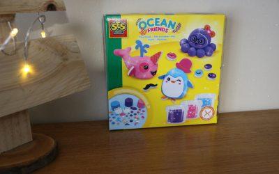 Mon coffret de pâte à modeler OCEAN FRIENDS chez SES CREATIVE