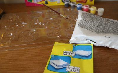 Coffret pour mouler et peindre chez SES CREATIVE