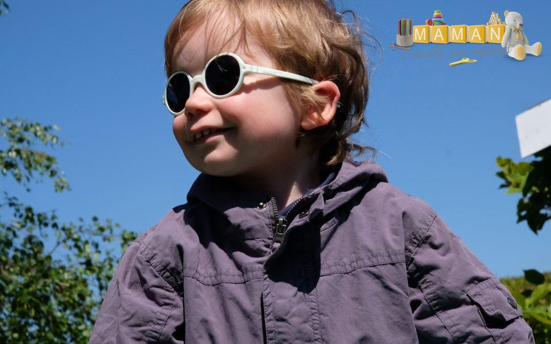 Ki ET LA  : des solaires enfants toujours adaptés , découverte de La Little Kids RoZZ 2/4 ans
