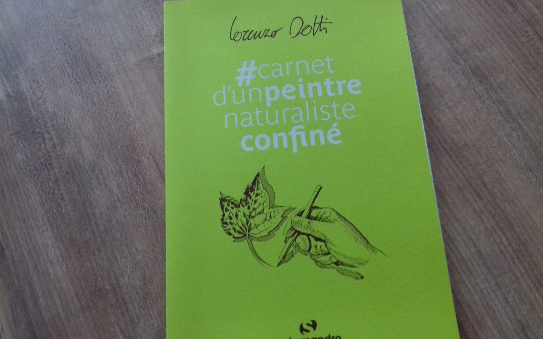 Carnet d'un peintre naturaliste confiné aux Editions Salamandre
