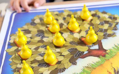 Le Verger , jeu coopératif HABA