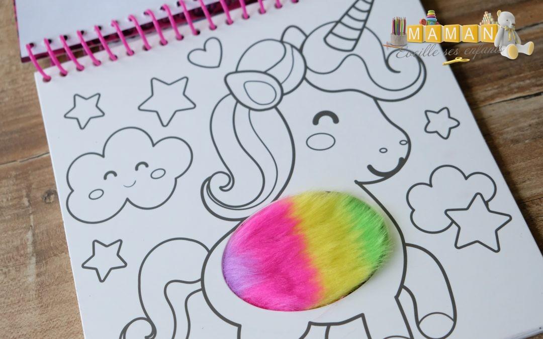 livre de coloriage peluche et crayons de couleur SES CREATIVE