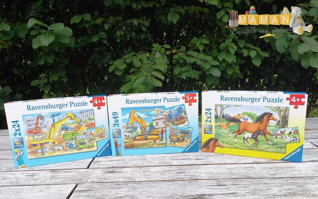 Nos puzzles Ravensburger