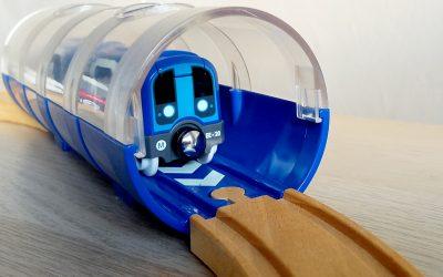 C'est tout nouveau chez BRIO, on se déplace aussi en métro
