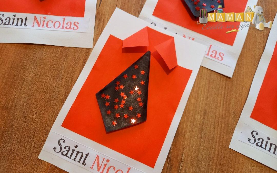 Mes cartes de Saint-Nicolas Home made