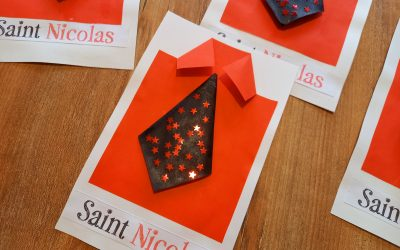 Mes cartes de Saint-Nicolas Home made