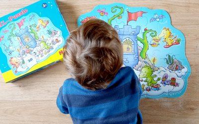 Puzzle Fête chez les dragons, HABA