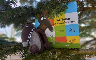 Le loup qui aimait les arbres , AUZOU, Lire Demain