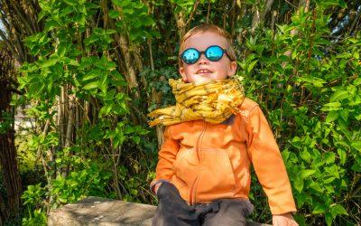 Ki ET LA  : des solaires enfants toujours adaptées , découverte de La Sun RoZZ Black
