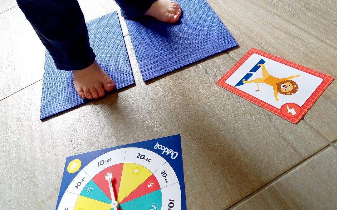 Et si on se mettait au yoga de façon amusante avec les enfants, un jeu SES CREATIVE